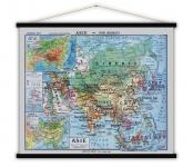 Carte vintage Asie