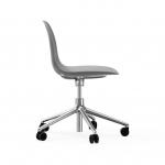 Chaise de bureau à roulettes Form Alu