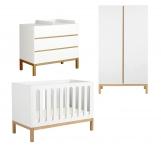 Chambre bébé Indigo évolutive 60x120