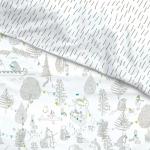 Housse de couette AntiPipi 100x140 Forêt