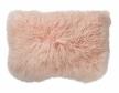 Coussin peau d'agneau Mongolie 40x40