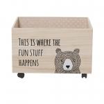 Coffre à jouets Ours Bear