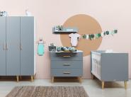 Commode 3 tiroirs Emma + plan à langer