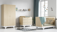 Commode 3 tiroirs Playwood + plan à langer