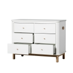 Commode Wood 6 tiroirs