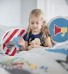 Coussin pour le dos Little Heroes