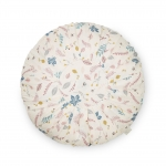 Coussin Rond Pressed Leaves