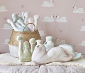 Coussin Cygne Swan