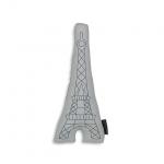 Coussin brodé Tour Eiffel