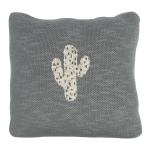 Coussin tricoté Cactus