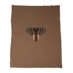 Couverture en tricot Elephant 100x160