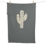 Couverture Tricot 100x160 Cactus