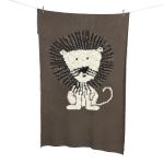 Couverture Tricot 100x160 Lion