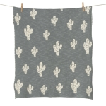 Couverture Tricot On the Go 65x80 Cactus
