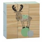 Cubes d'éveil en bois Rêne