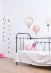 Sticker XL Ballons Roses à Pois
