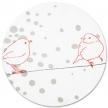 Parure de lit 100x135 Oiseaux
