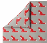 Parure de lit 140x200 Orange Fox