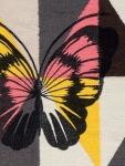 Tapis Arlequin Papillon 100x150