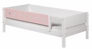 Barrière de sécurite 3/4 lit simple White 90x190