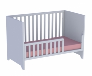 Lit bébé évolutif Lou 70x140