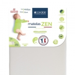 Pack literie Zen 120 (matelas+alèse)