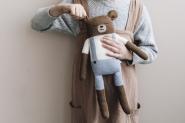 Doudou en tricot Big Ours Teddy