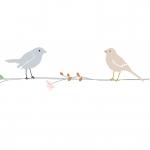 Frise Fleurs et Oiseaux