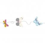 Frise Papillons