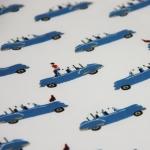 Housse de Couette 150x200 Blue Cars