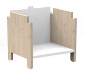 Kit vertical étagère Asymetry