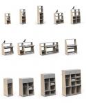 Kit vertical grand bureau Asymetry
