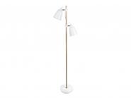 Lampe sur pied Duo Wood-Like