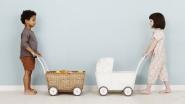 Landau pour poupées Strolley
