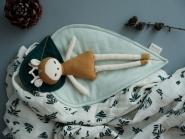 Linge de lit Leaf pour poupée