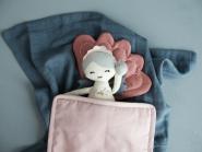 Linge de lit Shell pour poupée