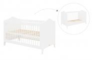 Lit bébé évolutif Evi 70X140