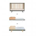 Lit bébé évolutif Petit Peton 70x140