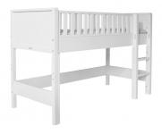 Lit mezzanine Nordic mi-hauteur évolutif