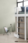 Lit mezzanine mi-hauteur Wood