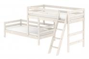 Lit surélevé Classic avec lit simple 90x190