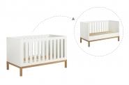 Mini chambre bébé Indigo évolutive 70x140