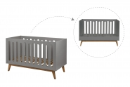 Mini chambre bébé Trendy évolutive 70x140