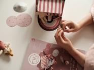Mini livre de bricolage Happy Fields