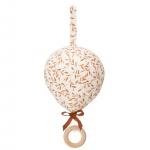 Mobile musical Balloon Caramel Leaves