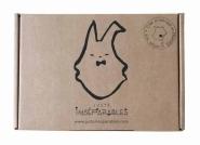 Coffret Cadeau Doudou Totem Pingouin
