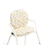 Paire de coussins Mimosa pour chaise haute Tibu