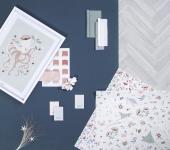 Papier peint Ocean Flowers