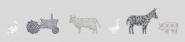 Parure de lit 120x150 Tractor farm