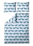 Parure de lit 240x220 Blue Horses